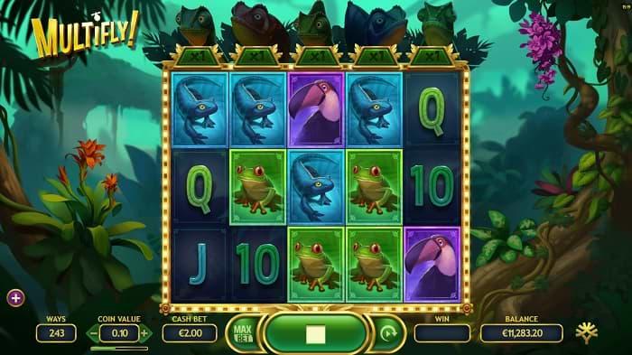 Multifly! slot screenshot