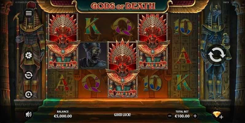Scatter symbols of Gods of Death
