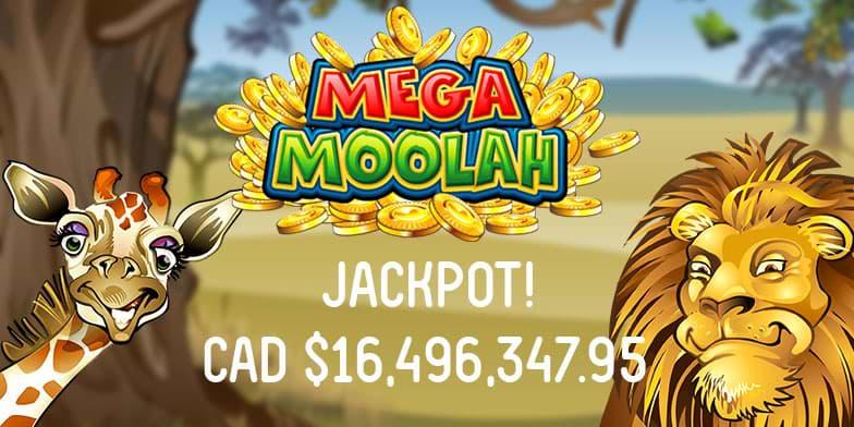 Mega Moolah jackpot April 2020