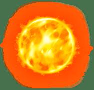 Sun symbol of Solar Temple slot