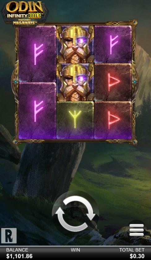 Odin Infinity Reels Megaways™ mobile screenshot