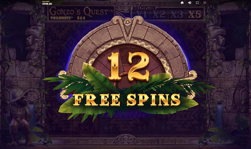 Gonzo's Quest Megaways™ screenshot free spins