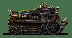 Locomotive symbol from Money Train slot