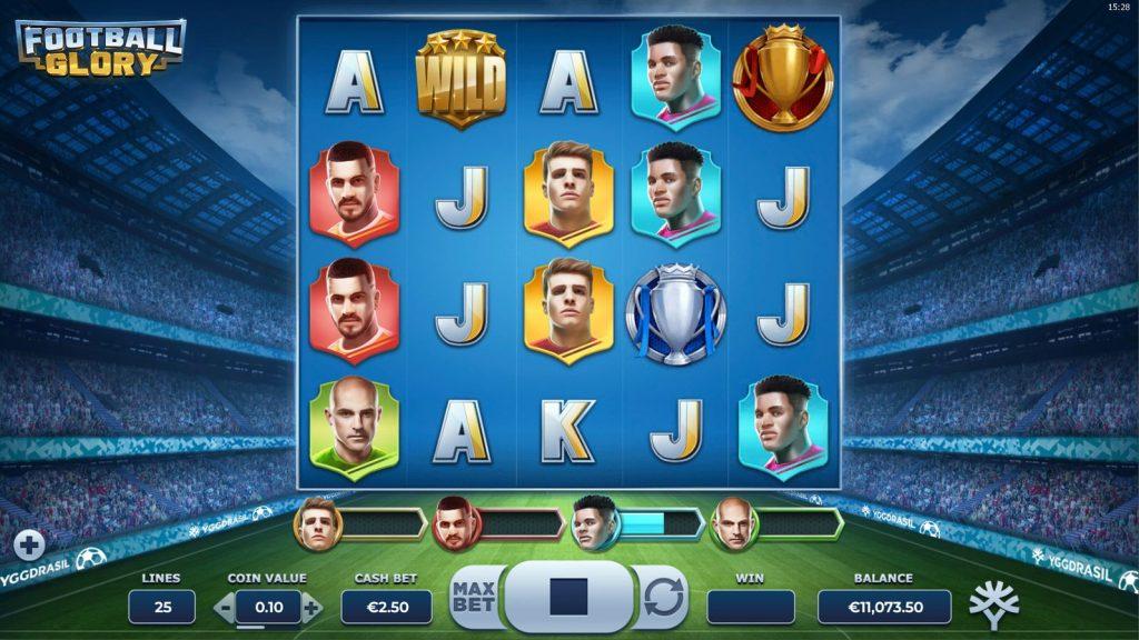 Football Glory slot screenshot