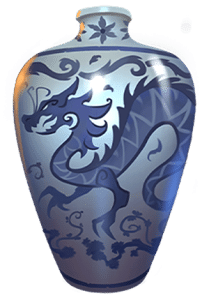 Vault of fortune slot machine: vase symbol