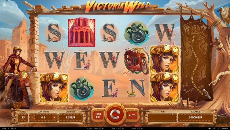 Victoria Wild slot screenshot