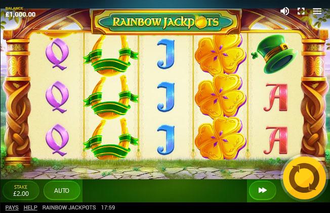 Rainbow Jackpots screenshot