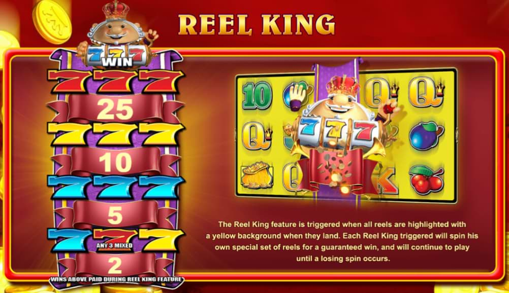 Reel King feature