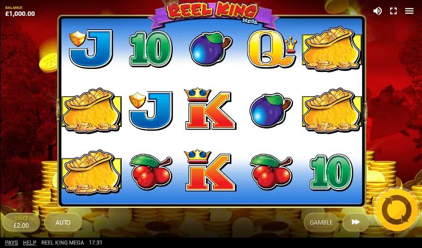Reel King Mega slot screenshot