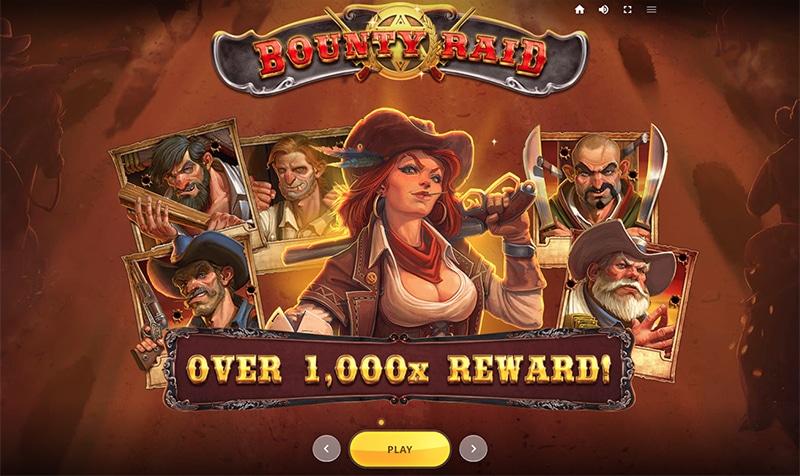 Bounty Raid slot reward