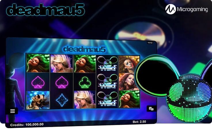 deadmau5 slot by Microgaming