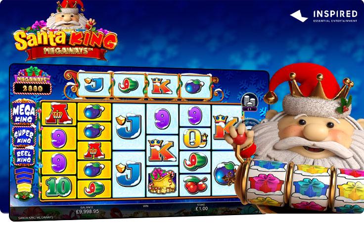 Santa King Megaways by Inspired Entertainment