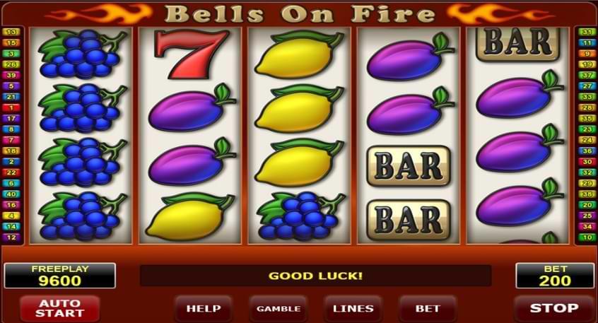 Bells On Fire slot screenshot