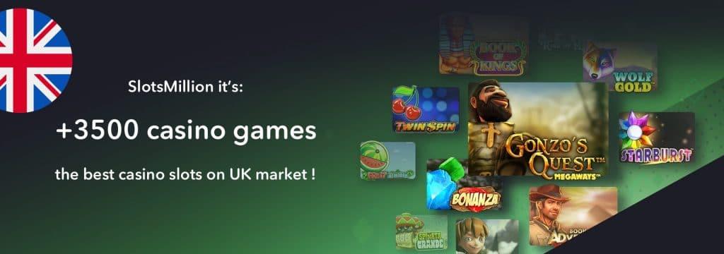 SlotsMillion best casino for slots players